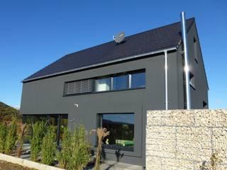 Faszination Haus  -  Passivhaus in Kleinkarlbach : ausgefallene Häuser von Architekturbüro für Passiv- und Energieplushäuser