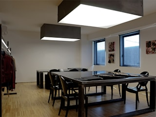 OFFICE IN PERUGIA - 2008-2011|+192.00 Complesso d'uffici moderni di Cacciamani Diego Architetto Moderno