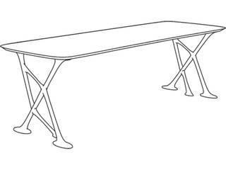 Table VAKANTDESIGN ArbeitszimmerSchreibtische