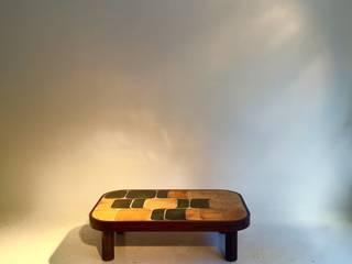 """Roger Capron : table basse modèle """"Shogun"""" vers 1960 par Desprez-Breheret Gallery Moderne"""