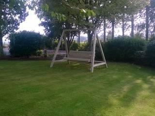 Outdoor Garden Swing NI Climbing Frames クラシカルな 庭