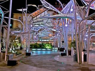 Modern Terrace by BERNARDINO ARQUITECTOS, SLP Modern
