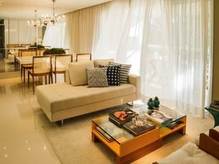 Salas de estilo moderno por Jamile Lima Arquitetura
