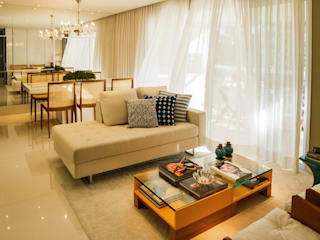 Salas modernas de Jamile Lima Arquitetura Moderno