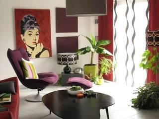maison de ville: Salon de style  par Allégorie Consult Déco