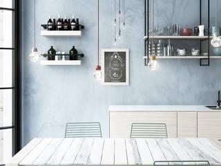 Cocinas de estilo  por GHINELLI ARCHITETTURA , Moderno