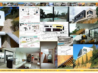 Maisons minimalistes par CUADRAT PINEN ARQUITECTES Minimaliste
