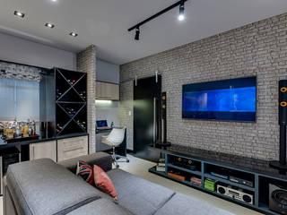 Guido Iluminação e Design 现代客厅設計點子、靈感 & 圖片