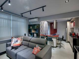Living: Salas de estar  por Guido Iluminação e Design