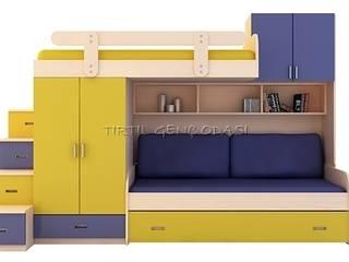Chambre d'enfant de style  par Tırtıl Genç ve Çocuk Odası