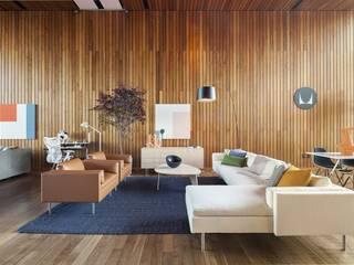 Herman Miller México 现代客厅設計點子、靈感 & 圖片