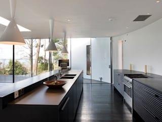 Seaglass House Cocinas modernas: Ideas, imágenes y decoración de The Manser Practice Architects + Designers Moderno