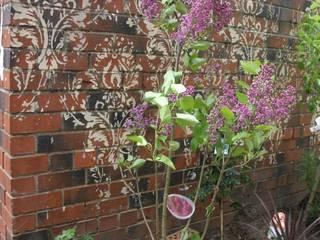 Outdoor Wallpaper Donna Walker Design Eclectic style garden