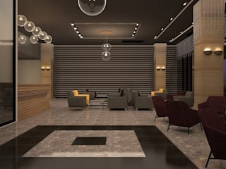 Nearport Hotel-Lobby Modern Oteller teknogrup design Modern
