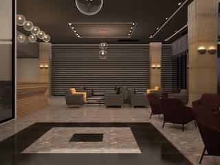 Nearport Hotel-Lobby Istanbul teknogrup design Hotel Modern