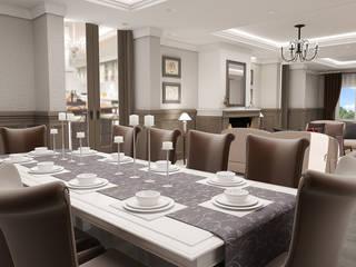 teknogrup design Rustic style dining room