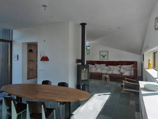 Salas de estar campestres por De Zwarte Hond Campestre