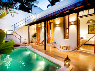 Casa GC55: Albercas de estilo  por Taller Estilo Arquitectura