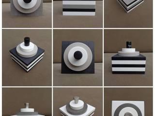 KUBÔ Cake : serre-livres / presse-papiers & cale-porte :  de style  par Upcycling France