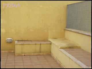 Home staging virtuale di una terrazza_PRIMA:  in stile  di progettomyhome