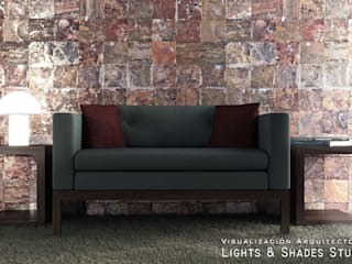 Hall Salas modernas de Lights & Shades Studios Moderno