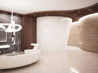 Minimalist living room by Студия Максима Рубцова. Minimalist
