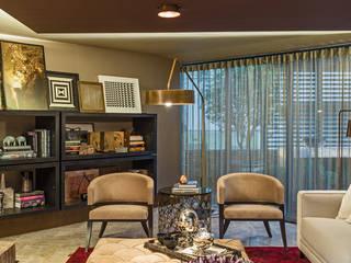 Salas modernas de Denise Barretto Arquitetura Moderno