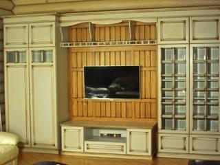 Мебельная мастерская Александра Воробьева ВітальняШафи і серванти