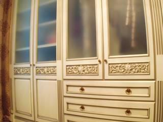 Мебельная мастерская Александра Воробьева Giyinme OdasıElbise Dolabı & Komodinler