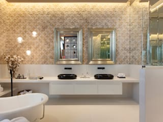 Denise Barretto Arquitetura Modern bathroom