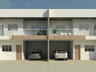 Casa Geminada Patrícia Alvarenga Casas modernas