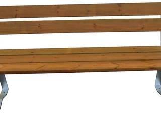 Panchina Supreme:  in stile  di Non Solo Arredo Srl - Arredo Urbano