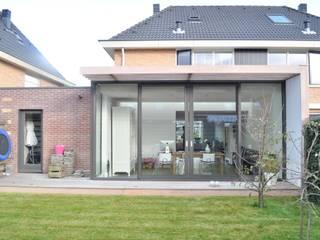 Moderne uitbreiding woning Spanbroek Moderne huizen van Nico Dekker Ontwerp & Bouwkunde Modern