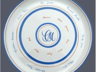 art de la table:  de style  par Isabelle Cadot porcelaine création