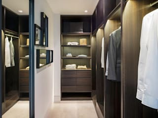 Roman House Penthouse The Manser Practice Architects + Designers Modern style dressing rooms