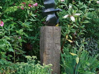 Sokkels voor buitengebruik Landelijke tuinen van Solits Landelijk