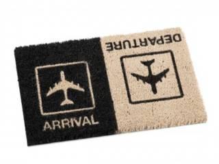 "Fußmatte ""Arrival/Departure"":   von Flugzeugmoebel.de"