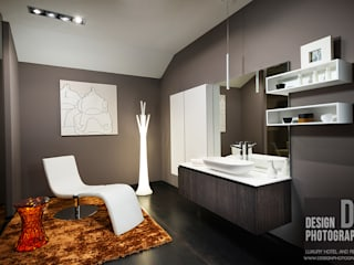 Modern bathroom by Design Photography Modern