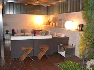 Modern style balcony, porch & terrace by DE DIEGO ZUAZO ARQUITECTOS Modern