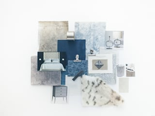 Sample Boards 根據 Lauren Gilberthorpe Interiors