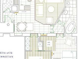planimetria:  in stile  di Arch. Stefano Tacconi