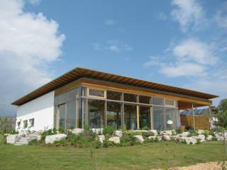 Ansicht Südwest:  Häuser von Moserarchitekten