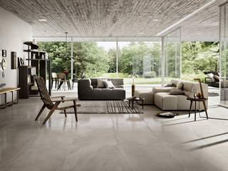 Cotto d'Este lancia la nuova collezione Limestone Soggiorno moderno di AuroraR Moderno