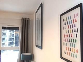 APRES - Salon:  de style  par Marion ALBINET, Décoratrice d'intérieur