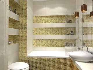 Квартира на Чертановской: Ванные комнаты в . Автор – Design ,
