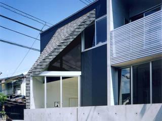 Minimalistische Häuser von Spell Design Works Minimalistisch