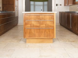 American Black Walnut Kitchen designed and made by Tim Wood Modern Kitchen by Tim Wood Limited Modern