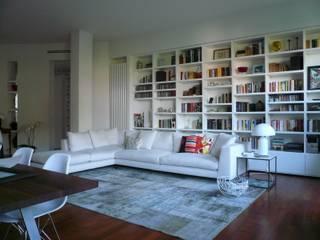 Modern living room by Karin Künzli Modern