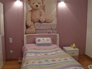 Wnętrza mieszkalne Nowoczesny pokój dziecięcy od ,,Goya Art'' Małgorzata Świderska Nowoczesny