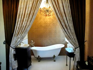 Wnętrza mieszkalne Klasyczna łazienka od ,,Goya Art'' Małgorzata Świderska Klasyczny